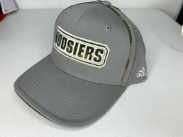 New SMALL/MEDIUM Adidas Indiana Hoosiers Camo Cap Hat Structured Flex Fit Fitted - $9.89