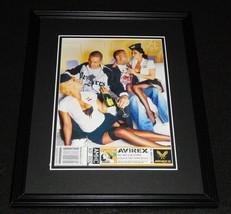 2006 Avirex Mile High Club Framed 11x14 ORIGINAL Advertisement - $32.36