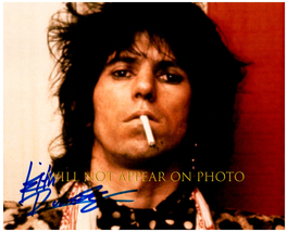 KEITH RICHARDS Signed Autographed 8X10 Photo w/ Certificate of Authenticity 5706 - $125.00