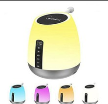 Bluetooth Speaker Lamp Smart Touch Control Dimmable Color Changing MP3 T... - $56.09