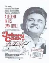 Johnny Cash Autographed Poster - $154.99