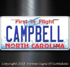 Campbell North Carolina City State University Aluminum Vanity License Pl... - $12.82