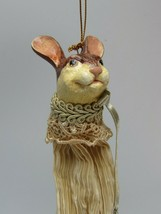 Katherines Collection Wayne Kleski Rabbit Bunny Candy Bag Ornament 31385 - $59.39