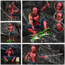 "Marvel Spider Man Tom Holland 6"" Action Figure Homecoming Ver Spiderman ... - $27.18+"