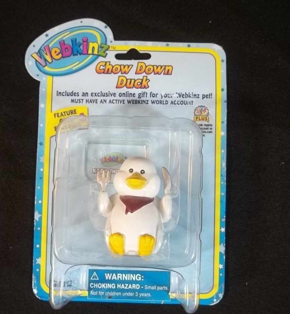 Primary image for Webkinz Chow Down Duck Series 2 Sealed With Code GANZ