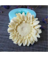 Sunflowers Shape 3D Silicone Mould Candle Aroma Soap Making Epoxy Resin ... - $24.30