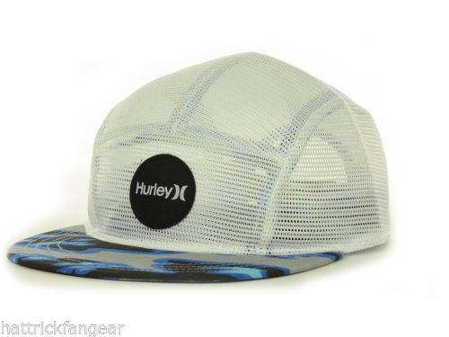f6cf4731574cd Hurley Cali Meshback 5 Panel Camper Cap Hat and 44 similar items. S l1600
