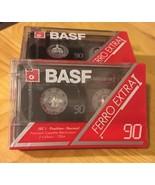 BASF Ferro Extra I 90 min Cassette Tapes New (3) - $9.49