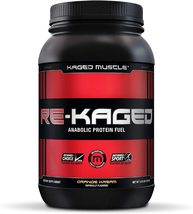 KAGED MUSCLE  RE-KAGED  ORANGE KREAM Anabolic Protein Fuel 20 servings n... - $39.99