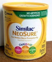 SIMILAC NEOSURE INFANT FORMULA POWDER WITH IRON - 13.1 OZ. - Exp. 4/1/2022 - $16.99