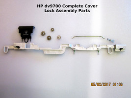 HP Pavillion dv9700 Lid Cover Lock Assembly (Complete Part Assembly) - $14.95