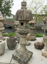Antique Edo-Meiji Period Japanese Stone Lantern Nuresagi Gata - 0101-0043 - $8,650.00