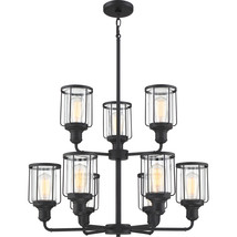 Ludlow 9-Light Chandelier in Earth Black - $539.99