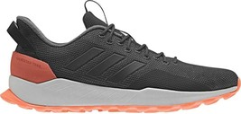 adidas Questar Trail Sneaker (Men's Shoes) in Carbon/Black/Grey Five - NEW - $94.45