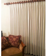 """Rio Pinch Pleated Insulated Drape Pair, Ivory, 220"""" wide by 94"""" long - $399.99"""