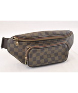 LOUIS VUITTON Damier Ebene Bum Bag Melville N51172 LV Auth sa1822 - $798.00