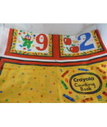 Crayola Fabric Book Panel Numbers by Wamsutta  - $9.89