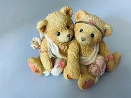 Cherished Teddies 1994 Heart To Heart 869082 Figurine Home Decor - $7.69