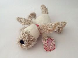 """HALLMARK white brown pink LOVE STRUCK THE PUPPY DOG 13"""" Valentines Day p... - $15.88"""