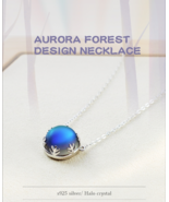 Aurora Pendant Necklace - 100% 925 Sterling Silver Jewelry - $54.99