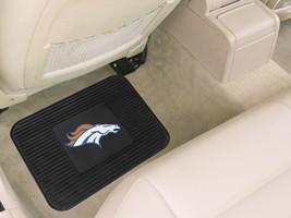 Denver Broncos Car Mat Heavy Duty Vinyl Rear Seat**Free Shipping** - $21.41