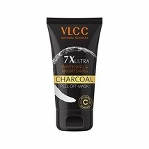 VLCC 7X Ultra Whitening and Brightening Charcoal Peel Off Mask, 100 gm - $16.83