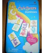 Cardinal Care Bears Plastic Dominoes Game In Tin - $9.99