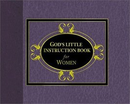 God's Little Instruction Book for Women [Sep 01, 2000] - $9.97