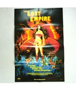 Vtg 1985 Original Lost Empire Exploitation Cult Movie VHS In Store Ad Po... - $18.80