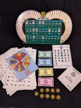 VINTAGE WHEEL OF FORTUNE BOARD GAME - ORIGINAL BOX/INSTRUCTIONS - 1987 - $19.34