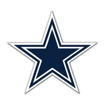 NFL NIB 12 INCH AUTO MAGNET DALLAS COWBOYS CURRENT LOGO - €14,65 EUR