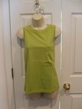 New In Pkg AVON/NEWPORT News 100% Cotton Sleeveless Tunic Top Xsmall - $12.86