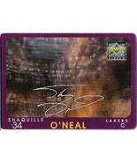 1997-98 Upper Deck Diamond Vision Signature Moves #13 Shaquille O'Neal - $24.00