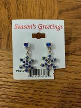 Vintage Christmas Snowflake Earrings - $18.50