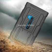 Black Heavy Duty Hybrid Protective Future Armor Impact Hard Cover Case H... - $12.09+