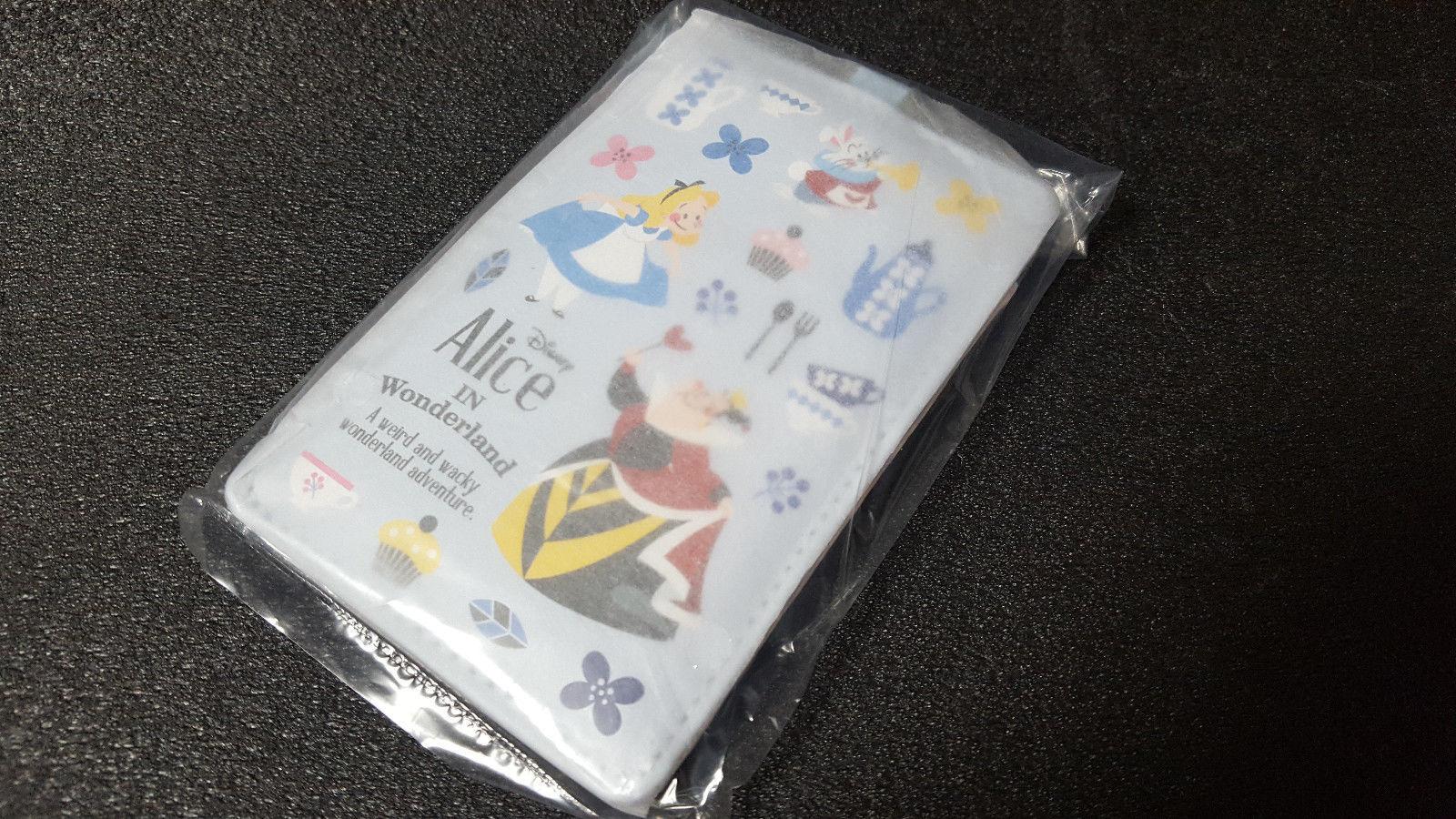 Alice in Wonderland Pass Case Storybook Disney Store Limited
