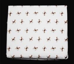 Ralph Lauren Hunting Beagle Dogs 4-Pc X-Deep Fitted Sheet Set NIP Nice Q... - $79.99