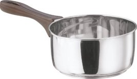 Vinod Cookware Induction Friendly Milk Pan Silver 1.4 Litres - $29.00