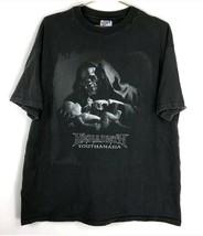 Vtg True 90s Megadeth Youthanasia Metal T Shirt Original USA XL Metallic... - $74.24