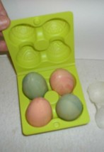 VINTAGE GRADE AVON HOSTESS SOAPS~4 PASTEL EGGS IN CARTON~ORIGINAL BOX~19... - $12.82