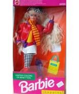 1991 Mattel United Colors Of Benetton Shopping Barbie #4873 NRFB - $24.75