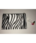 """2 Cosmetic Cases in Zebra Print-1 is 8.5""""Wx5.5""""T & the Other is 6.5""""Wx4.... - $7.80"""