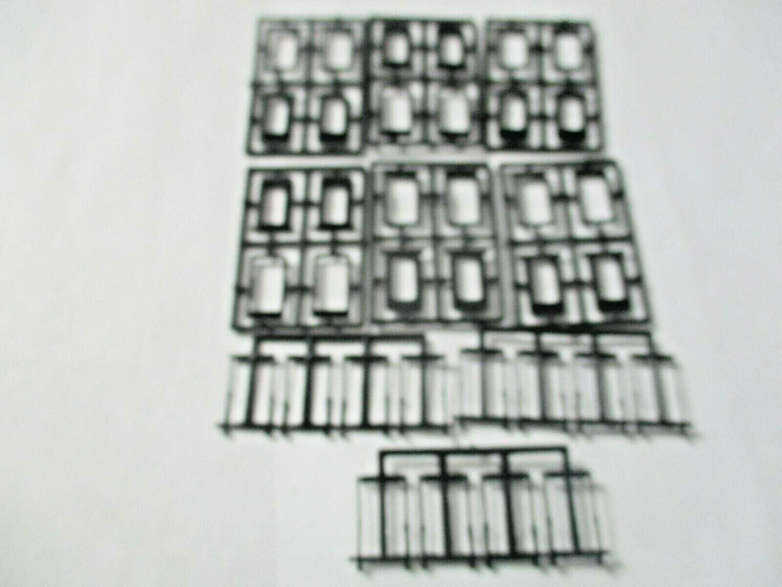 American Limited # 8516 Operating Diaphragms For Streaminliners Black N-Scale
