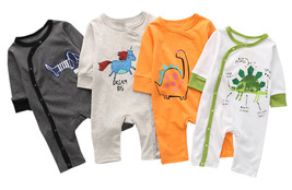 StylesILove Chic and Fun Animal Character Infant Baby Boy Long Sleeve Ou... - $13.99
