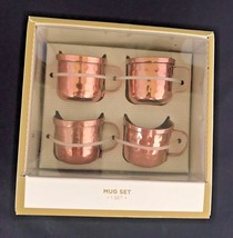 BN Set 4 Pack Moscow Mule Shot Mugs Stainless S... - $23.27