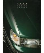 1994 Subaru LEGACY sales brochure catalog 94 US L LS LSi Turbo - $6.00