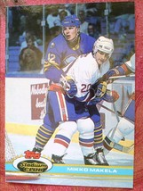 ICE  HOCKEY  TOPPS 1991  #261  MIKKO  MAKELA - $0.99