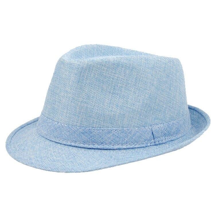 2018 Brand New Fashion Floppy Jazz Hat Pure Men Women's Large Brim Caps England  image 3