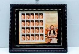 Framed Judy Garland Legends Of HollywoodStamp Sheet 2006 USPS  - $12.86
