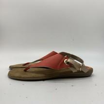 Aerosoles Thong Orange Color Women's Sandals, Size 9.5M - $14.85